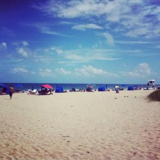 Poslední letní den u moře...