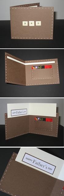 DIY peněženka/přáníčko s překvapením