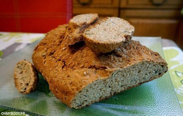 Recette du pain intégral