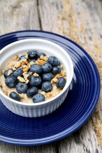 Astuce de l'assiette bleue pour manger moins
