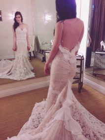 The Inbal Dror BR-13-24: My would-have-been wedding gown, had my fiancé and I not been swooned by the BR-13-23.