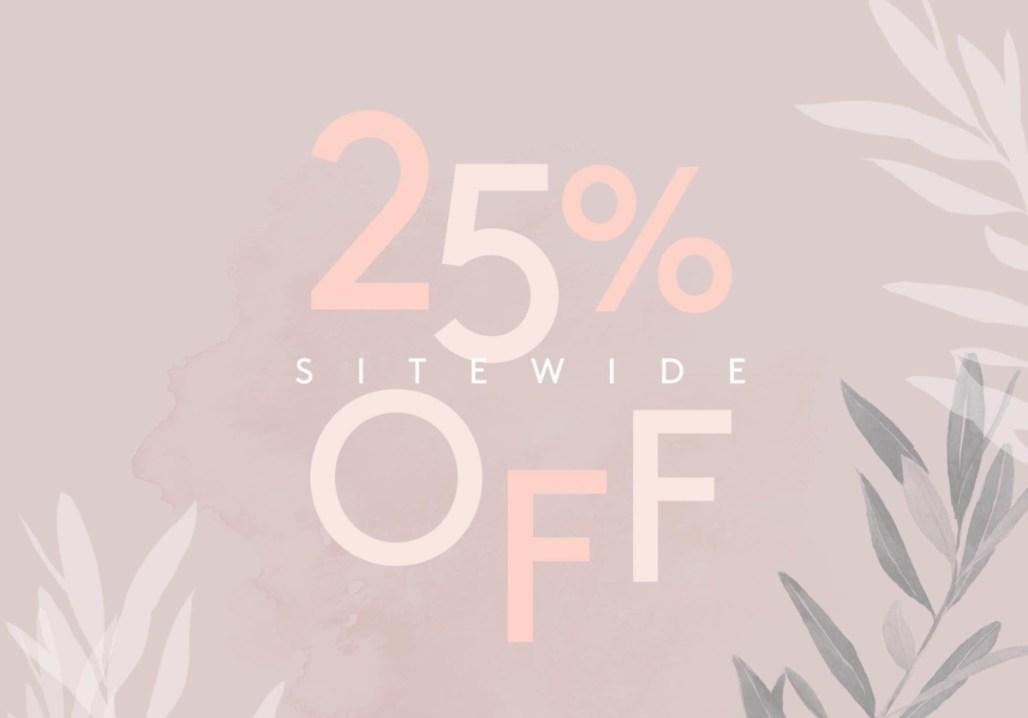 ahalife 25% off