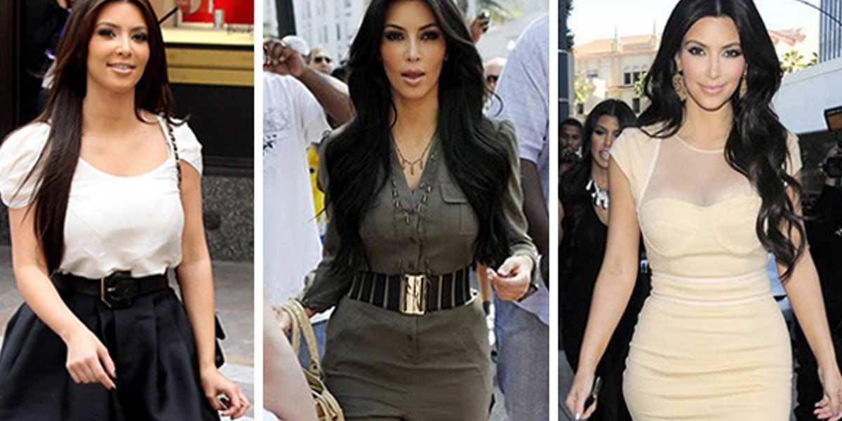 estilo Kim Kardashian street style