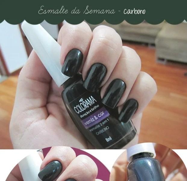 Esmalte Carbono Colorama