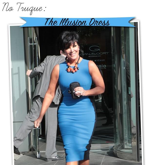 Illusion Dress Kris Jenner