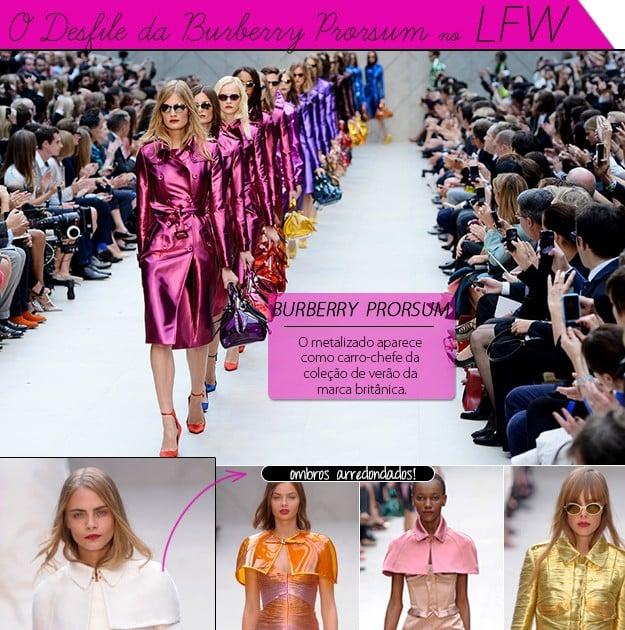 desfile Burberry Prorsum blog de moda LFW london fashion week
