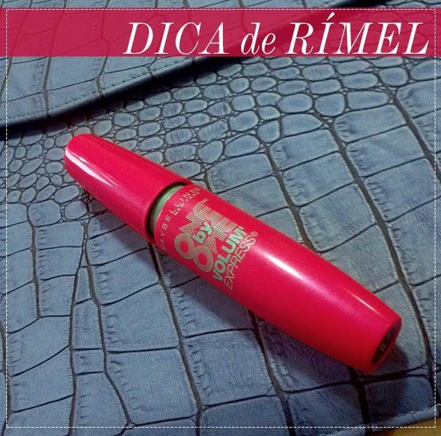 dica de rimel one by one maybelline blog de moda oh my closet