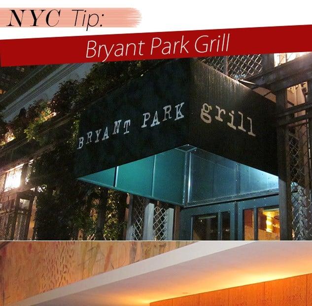 dica de nova york restaurante blog de moda bryant park grill oh my closet