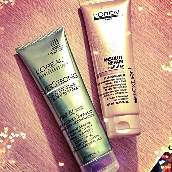 everstrong absolut repair reconstruct shampoo cleansing balm loreal dica cabelos blog de moda