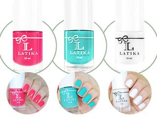 sorteio latika omc blog de moda oh my closet esmalte esmaltes latika comestics brilho sorbet cores mint rosa renda