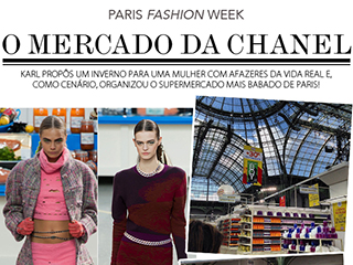 mercado chanel desfile paris fashion week blog de moda oh my closet bolsa sestina chanel paris desfiles tendencia cara delevigne karl lagerfeld