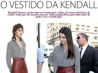 vestido da kendall blog de moda oh my closet vestido styligion vestido self portrait look kendall kardashians
