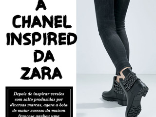 chanel inspired da zara blog de moda oh my closet botinha bota zara correntes chanel