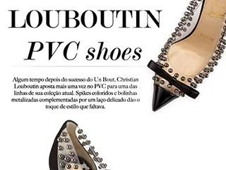 louboutin pvc shoes blog de moda oh my closet tendencia sapato de pvc scarpin spikes bille et boule spike me louboutin