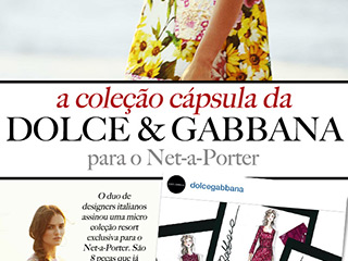 dolce & gabbana para net-a-porter blog de moda oh my closet colic capsula capsule collection print tendencia