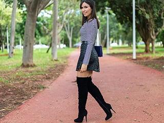 Look Inspiração: Mônica veste conjunto Únicas para Zaus Boutique.