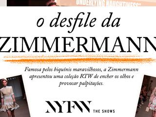 Veja no Oh My Coset o desfile Zimmermann no NYFW!