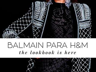 Saiba tudo sobre a coleção e lookbook Balmain para H&M no blog Oh My Closet!, por Mônica Araújo.