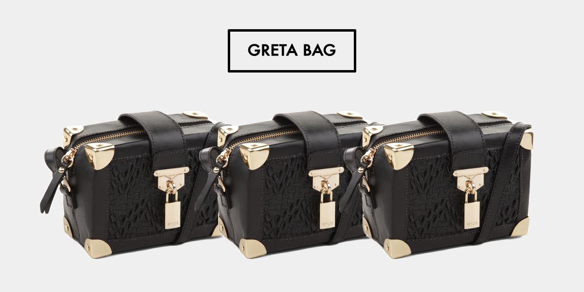 Saiba mais detalhes sobre a bolsa Schutz Greta, no Oh My Closet!