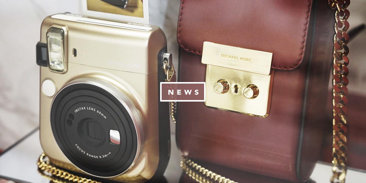 Michael Kors Fujifilm Instax MK e a tecnologia. Vem ver as novidades da moda e tech no Oh My Closet, por Mônica Araújo.