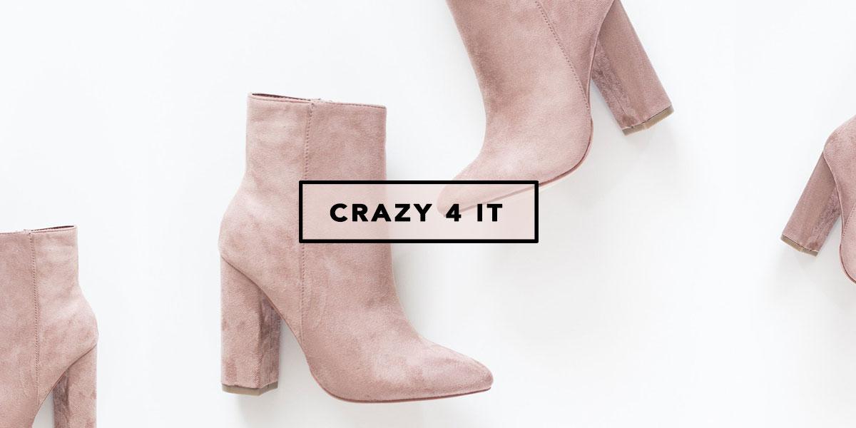 Botinha suede ankle boot Love Street blush pink desejo do dia Mônica Araújo influencer Oh My Closet.