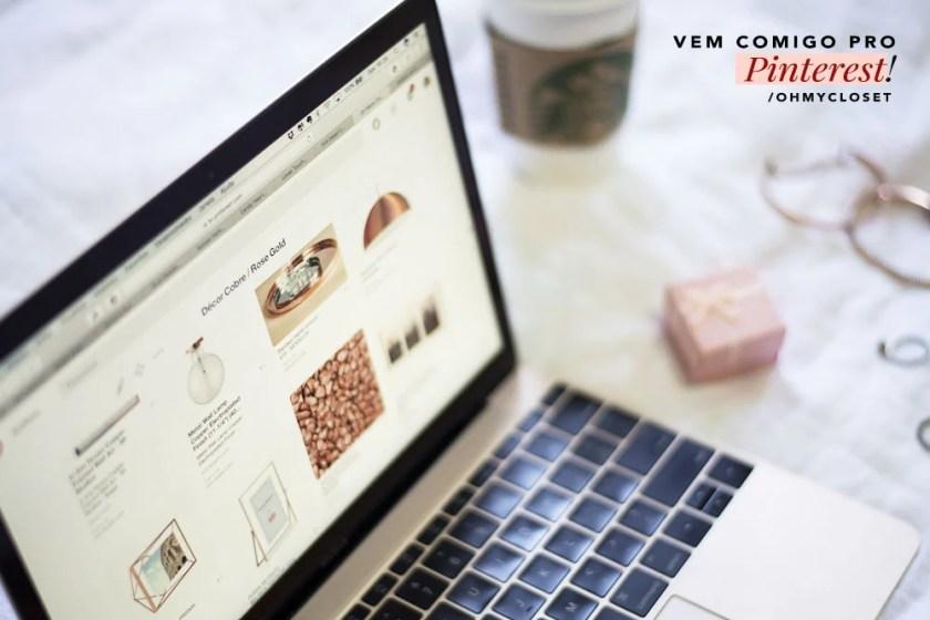 Décor Cobre ros gold Mônica Araújo Oh My Closet Pinterest inspiração.