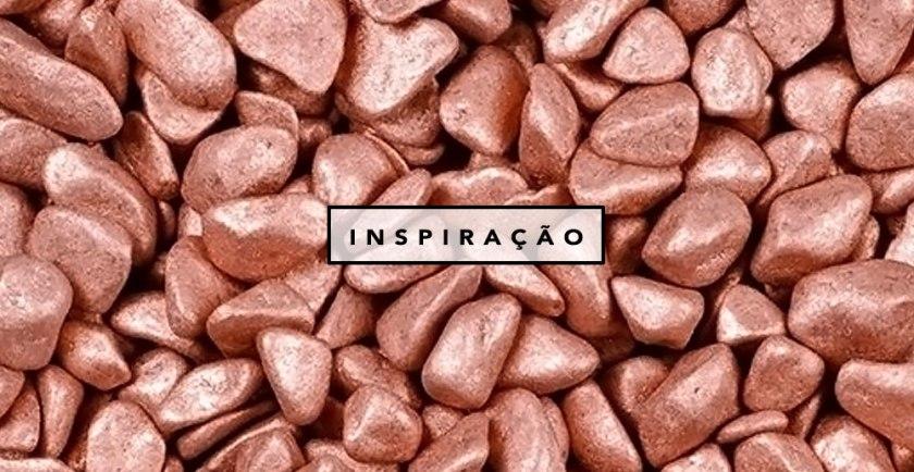 Décor cobre rose gold Oh My Closet por Mônica Araújo no Pinterest.