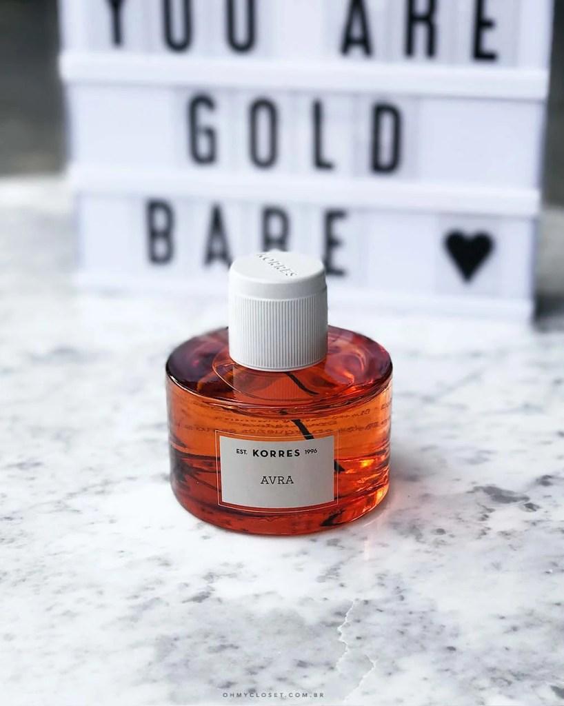 Avra perfume Korres deo parfum onde comprar Sephora. Veja as dicas de beleza do Oh My Closet!
