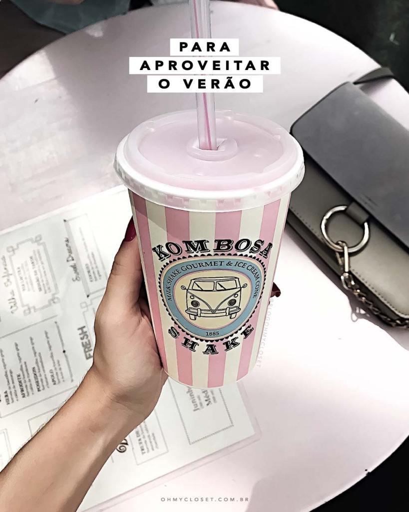 Kombosa Shake dica onde tomar milkshake São Paulo Rio Preto verão 2017 Lifestyle Oh My Closet!