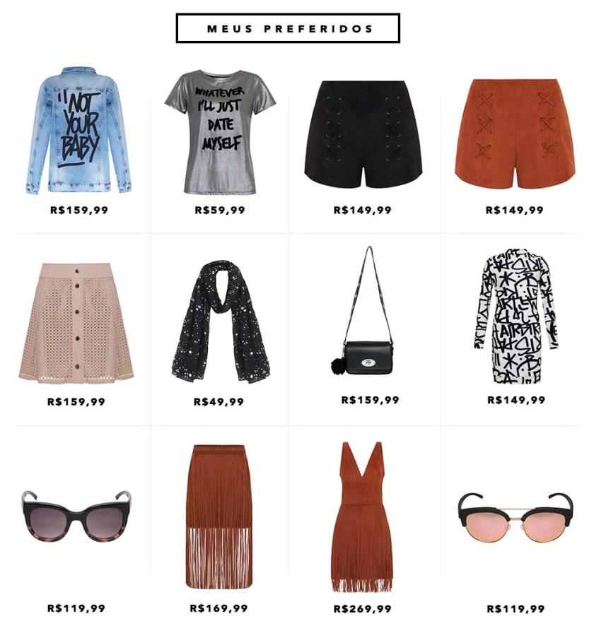 Wishlist preferidos da coleção da Pat Pat's para C&A por Mônica Araújo do Oh My Closet. Veja preços.