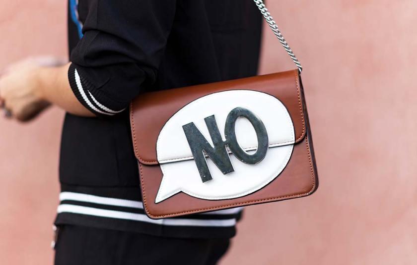 """Bolsa Zara """"NO"""" no detalhe do look do dia."""