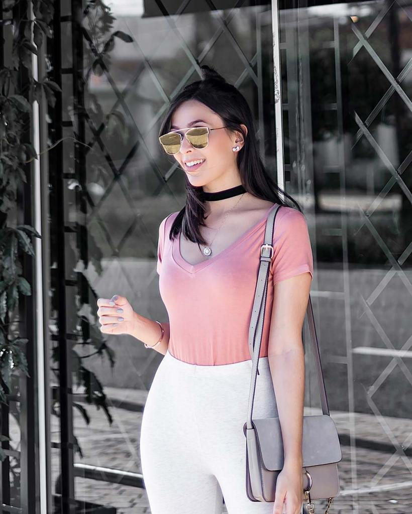 Look bolsa faye inspired Ali Express rosa blush pink Monica Araujo Oh My Closet
