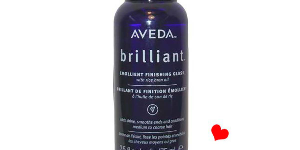 Aveda brilliant finishing gloss