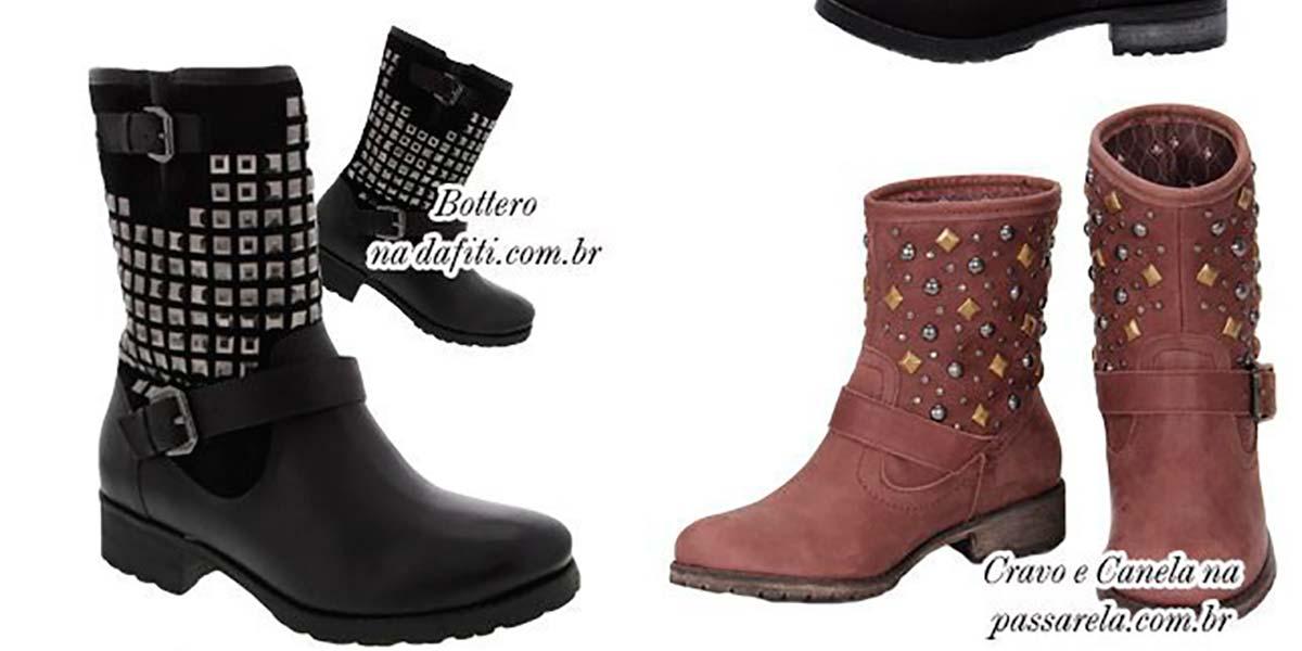 Biker boots para o inverno