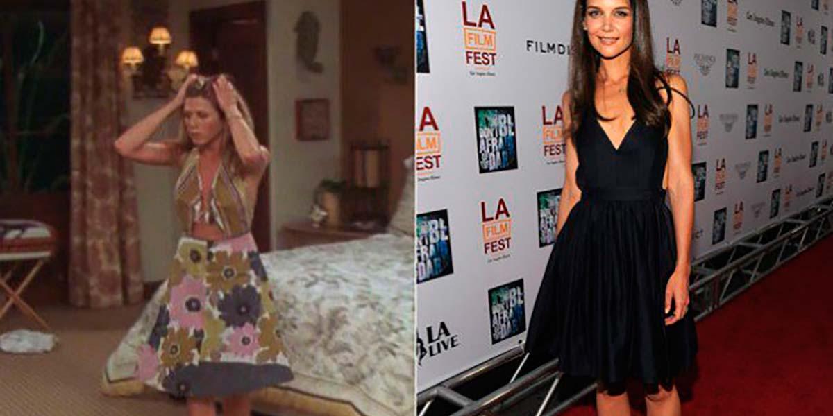 Vestido Jennifer Aniston e Katie Holmes