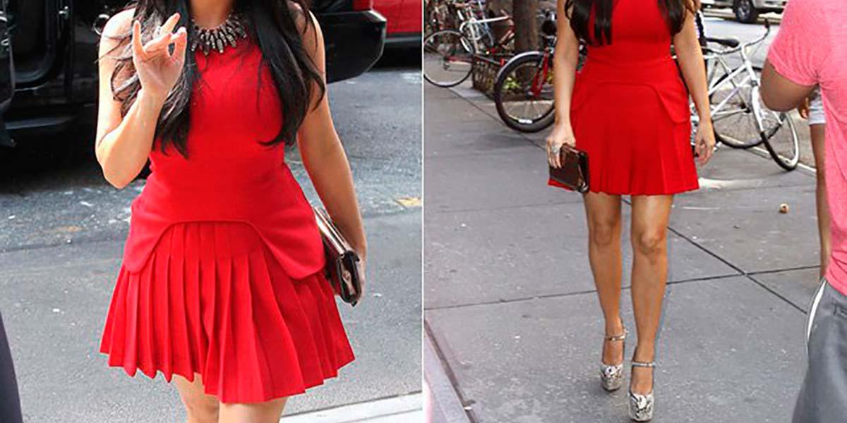 Vestido McQueen Kim Kardashian