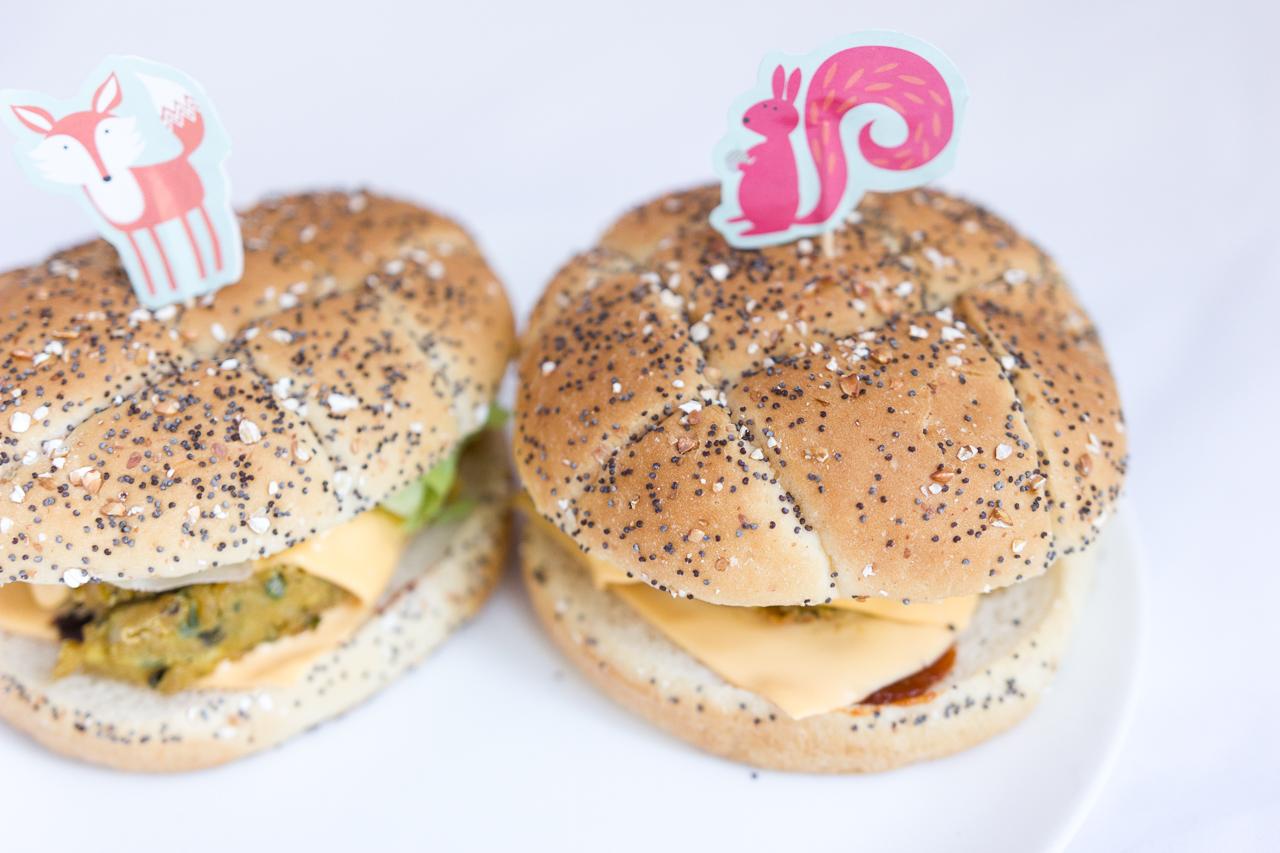 recette burger veggie vegan végétarien ketchup pois chiches degustabox recipe blog