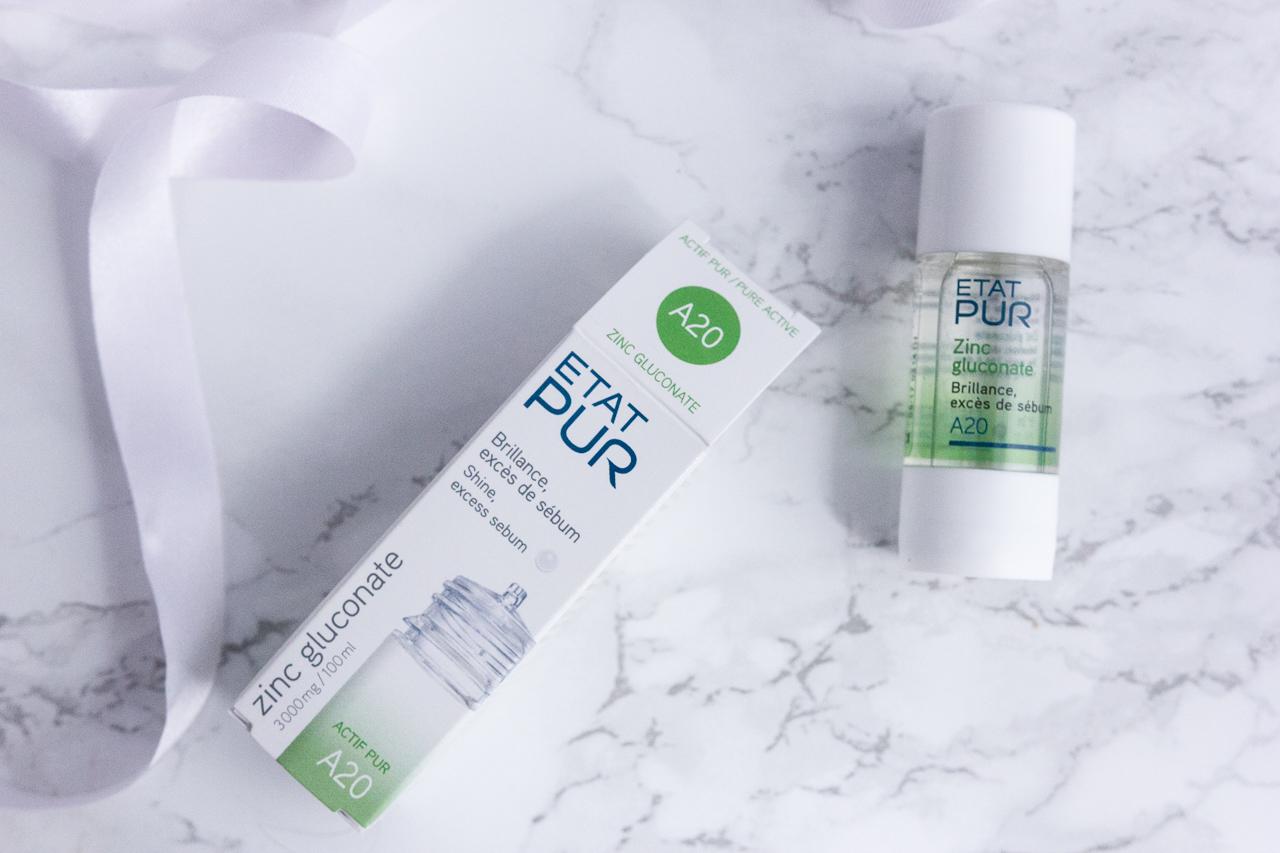 etat pur actifs purs dermatologie soin personnalisé revue avis blog blogueuse beauté test