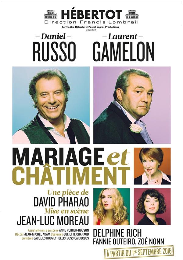 theatre piece mariage et chatiment hébertot comedie avis revue blog sortir sortie