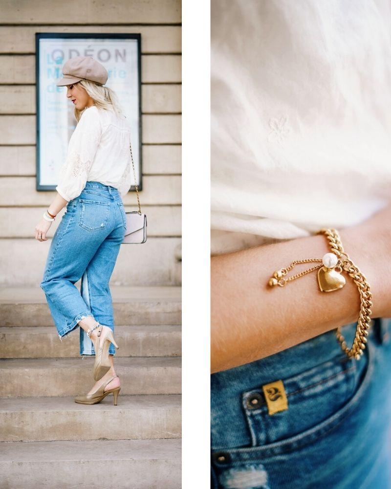 Blogueuse mode en jeans