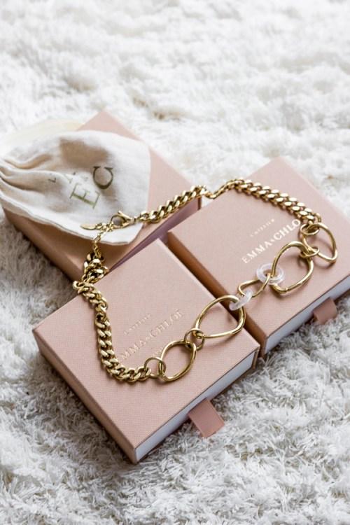 Le collier Delaira de l'Atelier Emma&Chloé