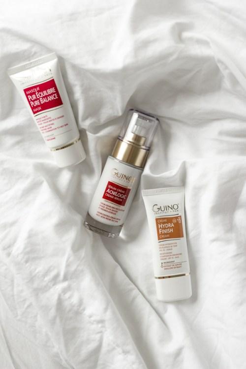 Soins Guinot contre l'acné