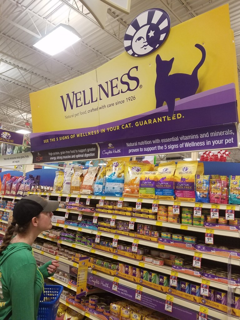 Shopping for Wellness at PetSmart