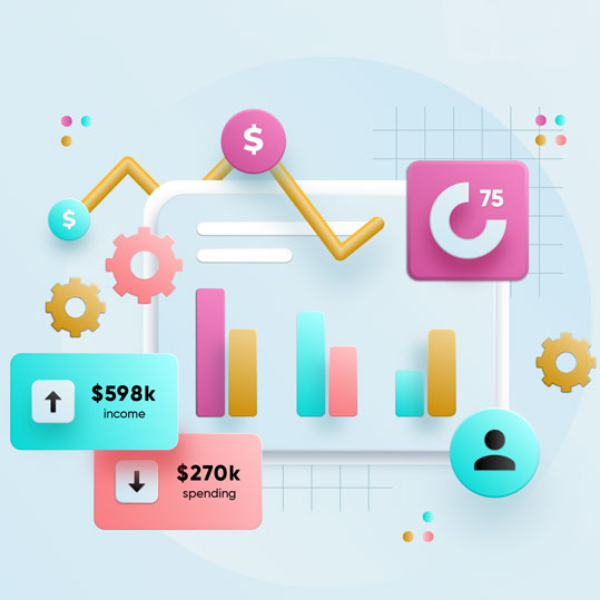 Marketplace con herramientas de marketing