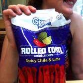 Rolled Corn Spicy Chile & Lime Chips