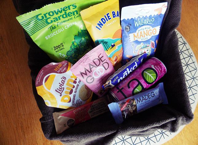 Snackies = Box du mois de mars !