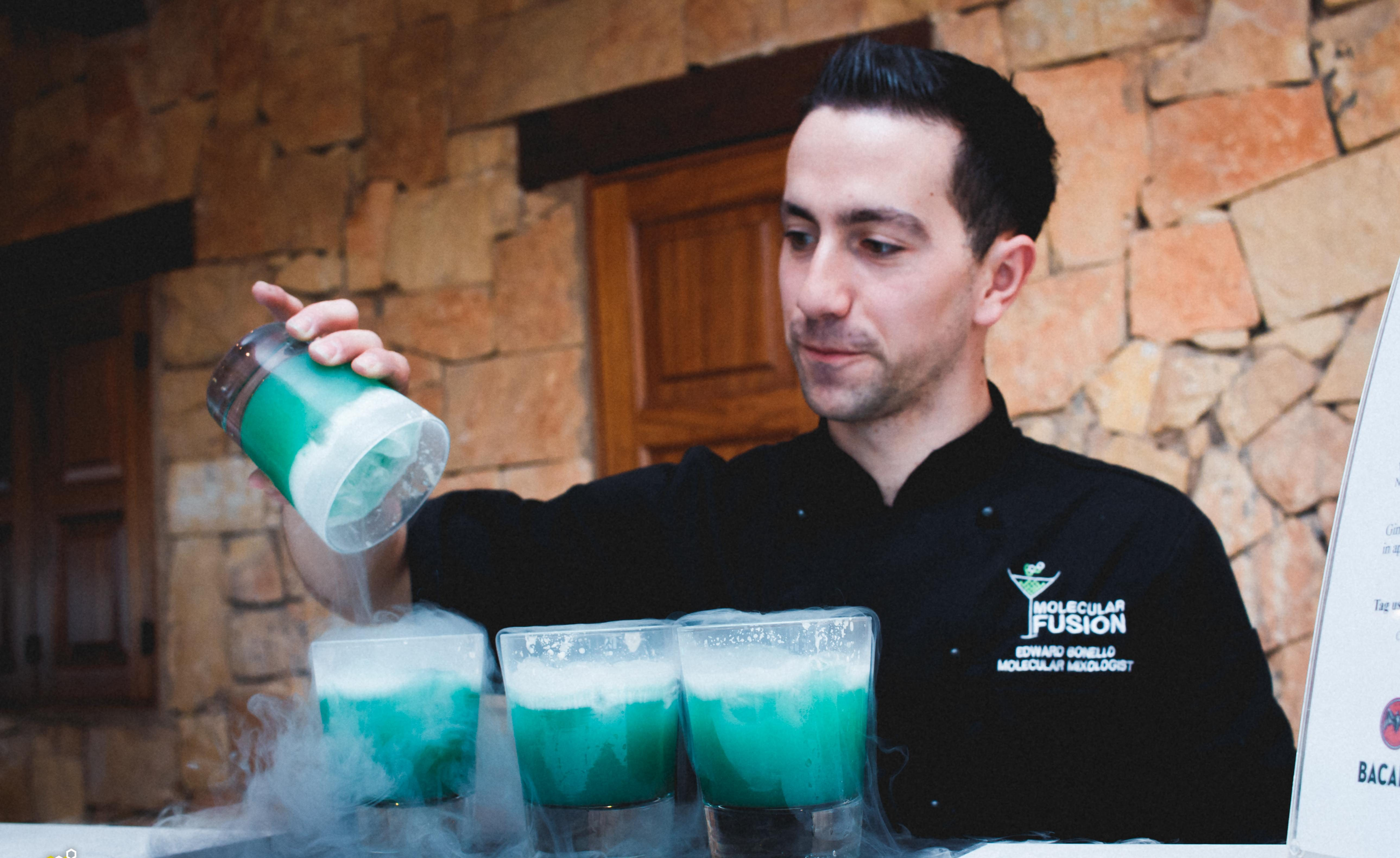 The Man Behind the Cocktail