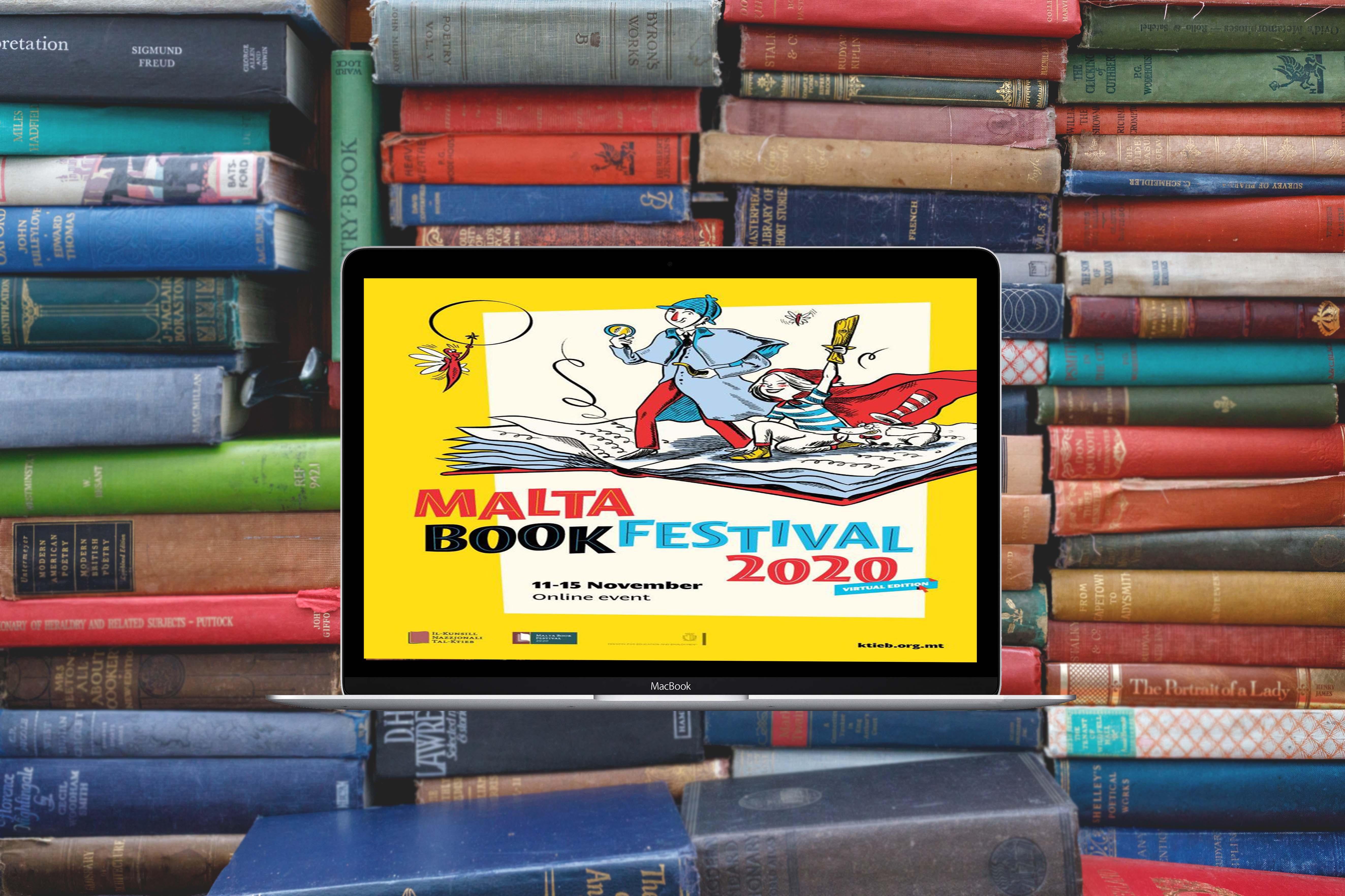 Malta Book Festival going online this season