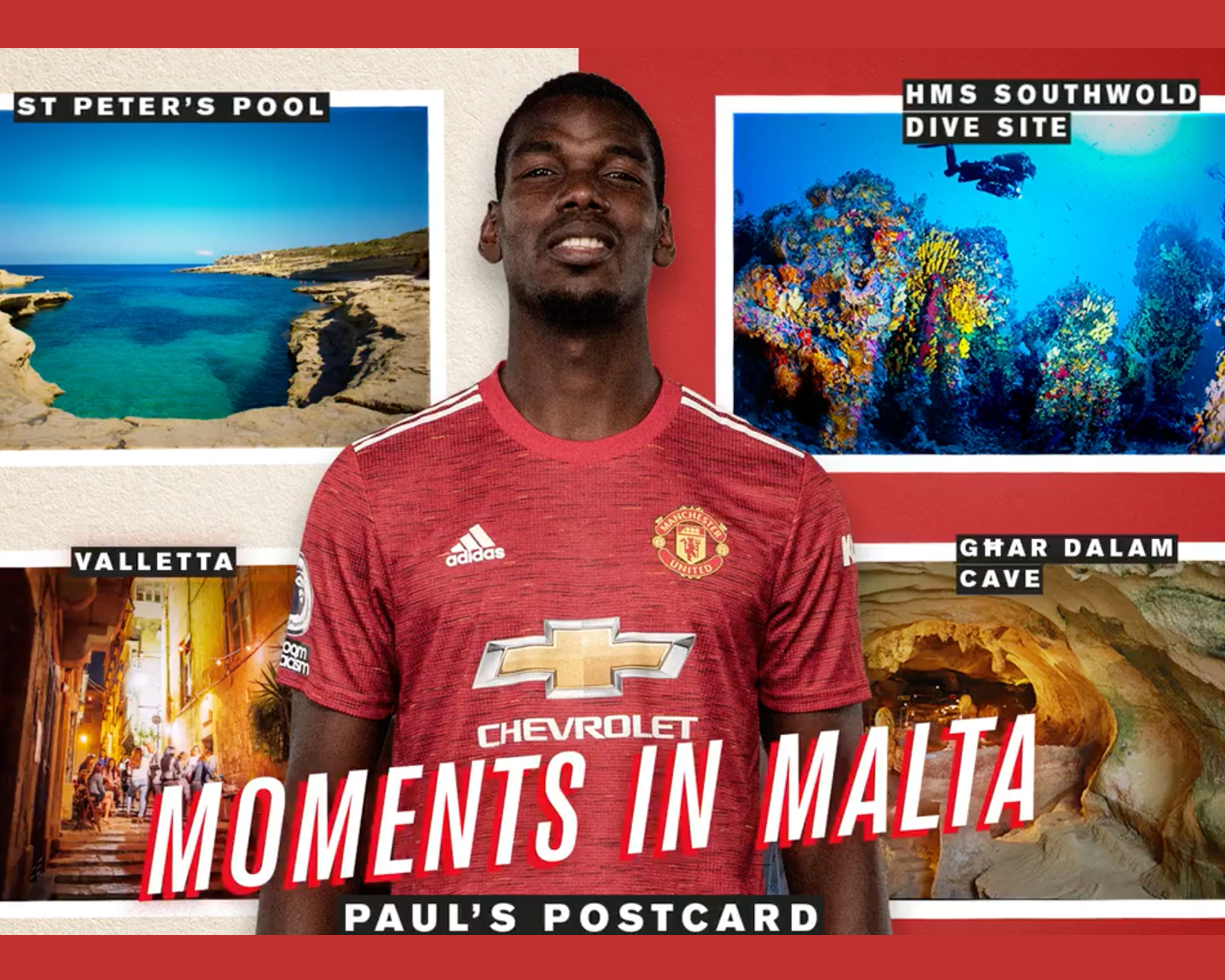 Man United stars pick out their top Maltese spots