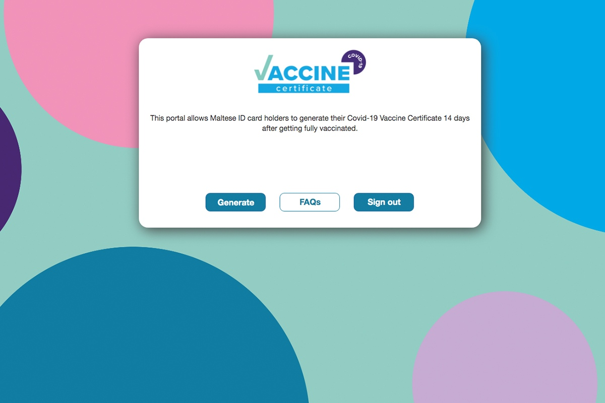 Read more about the article Malta launches COVID-19 vaccine certificate system